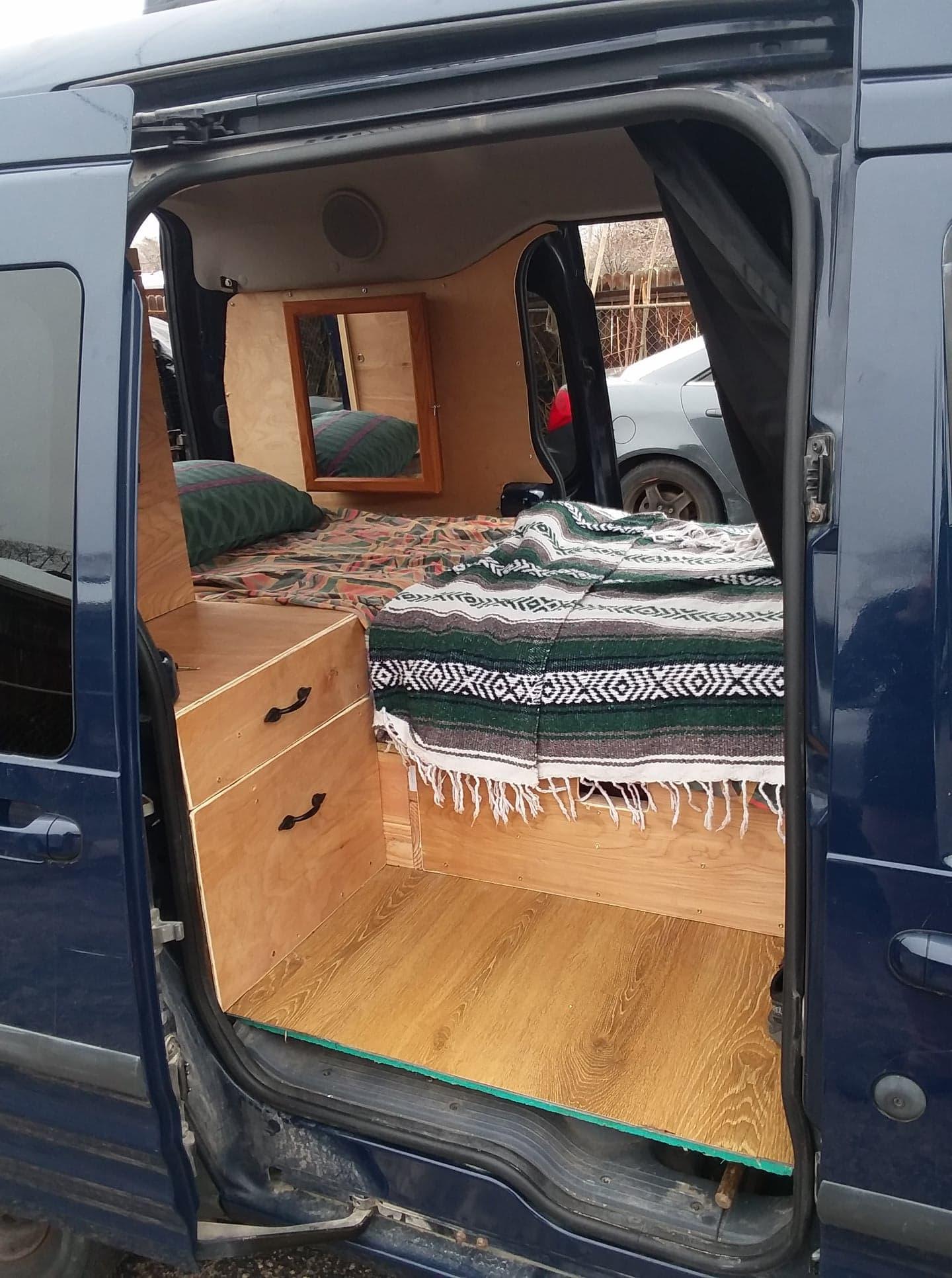 2015 Ford Transit Connect Affordable Camper Van Conversion