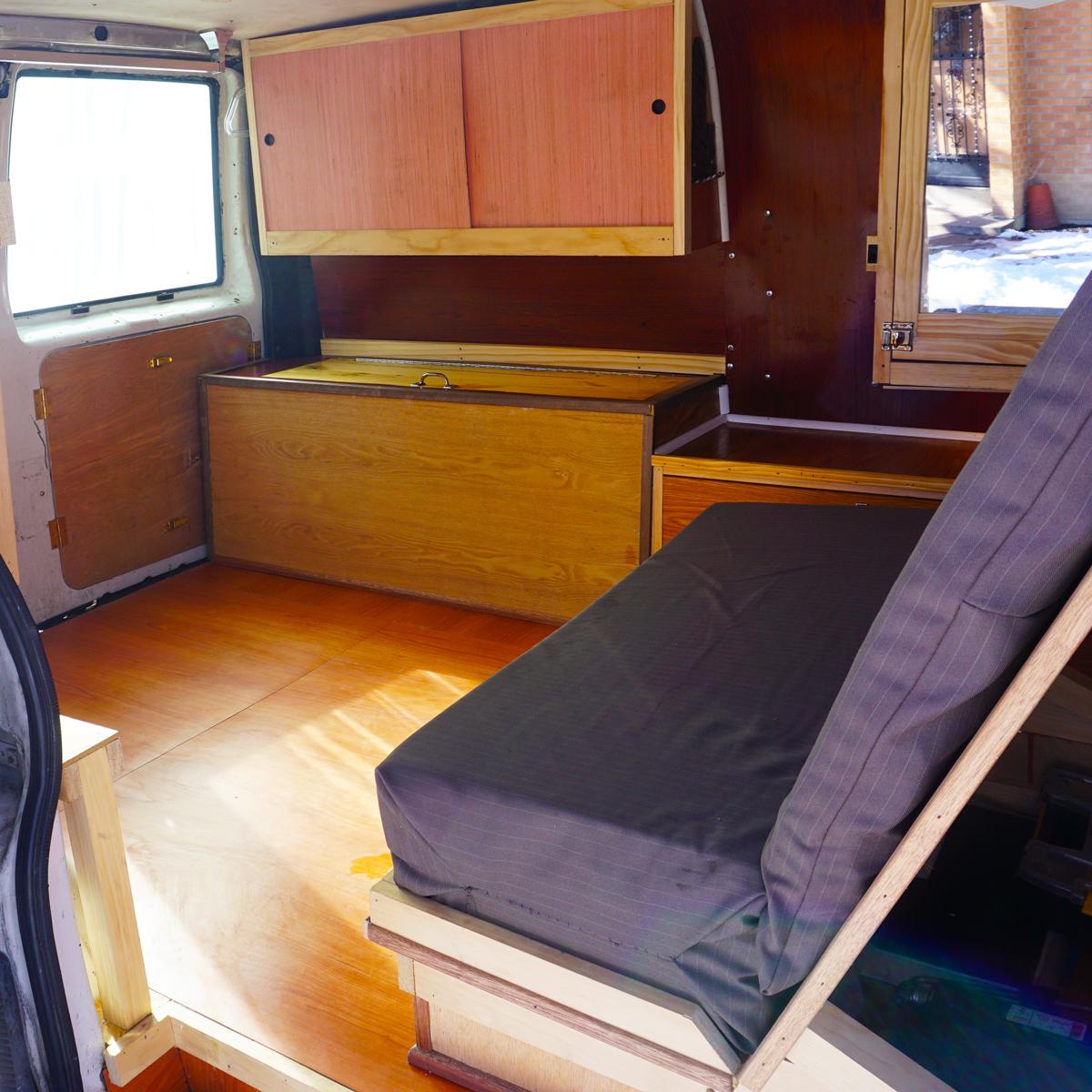 astro van conversion camper van conversion golden, colorado
