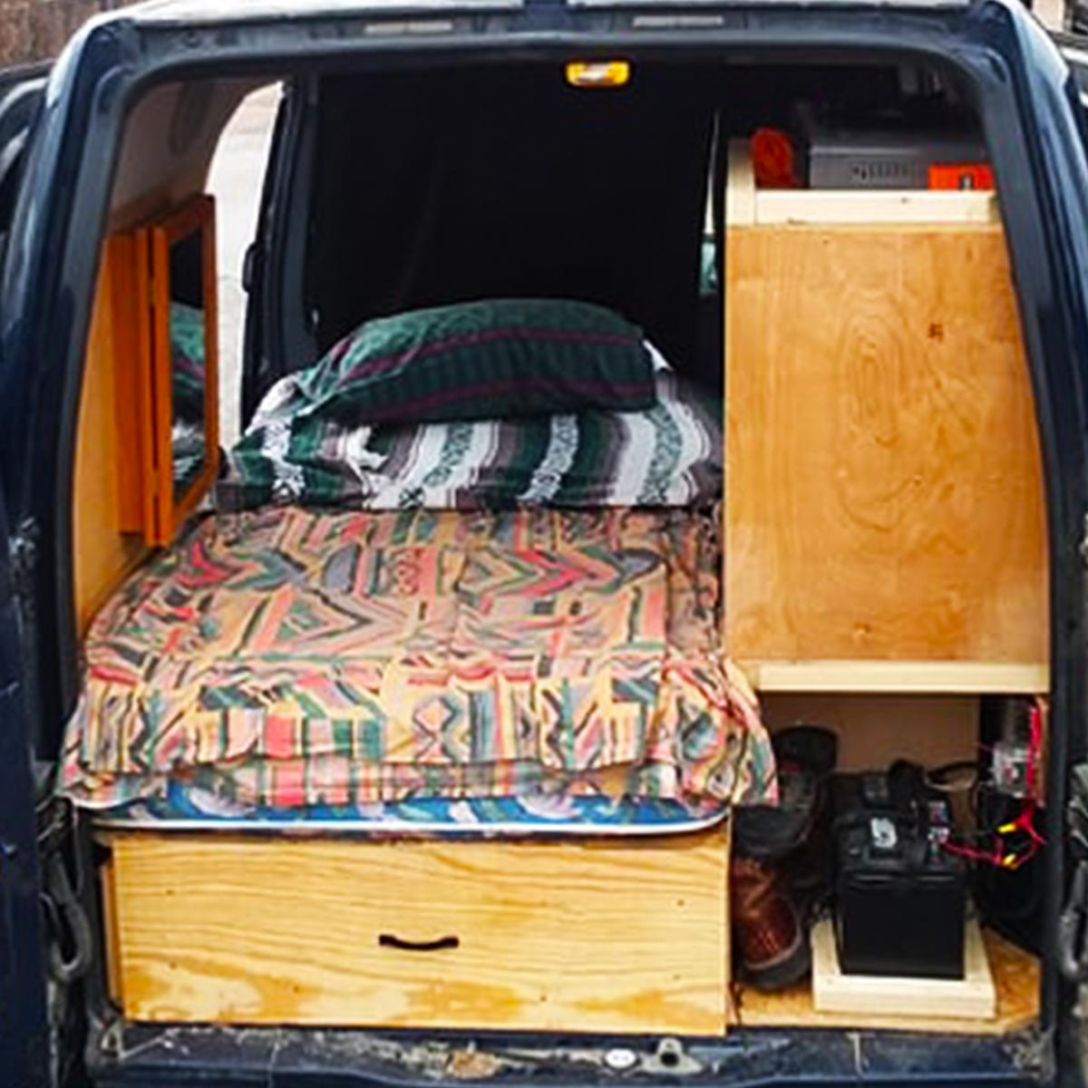 ford transit affordable camper van conversion golden, colorado